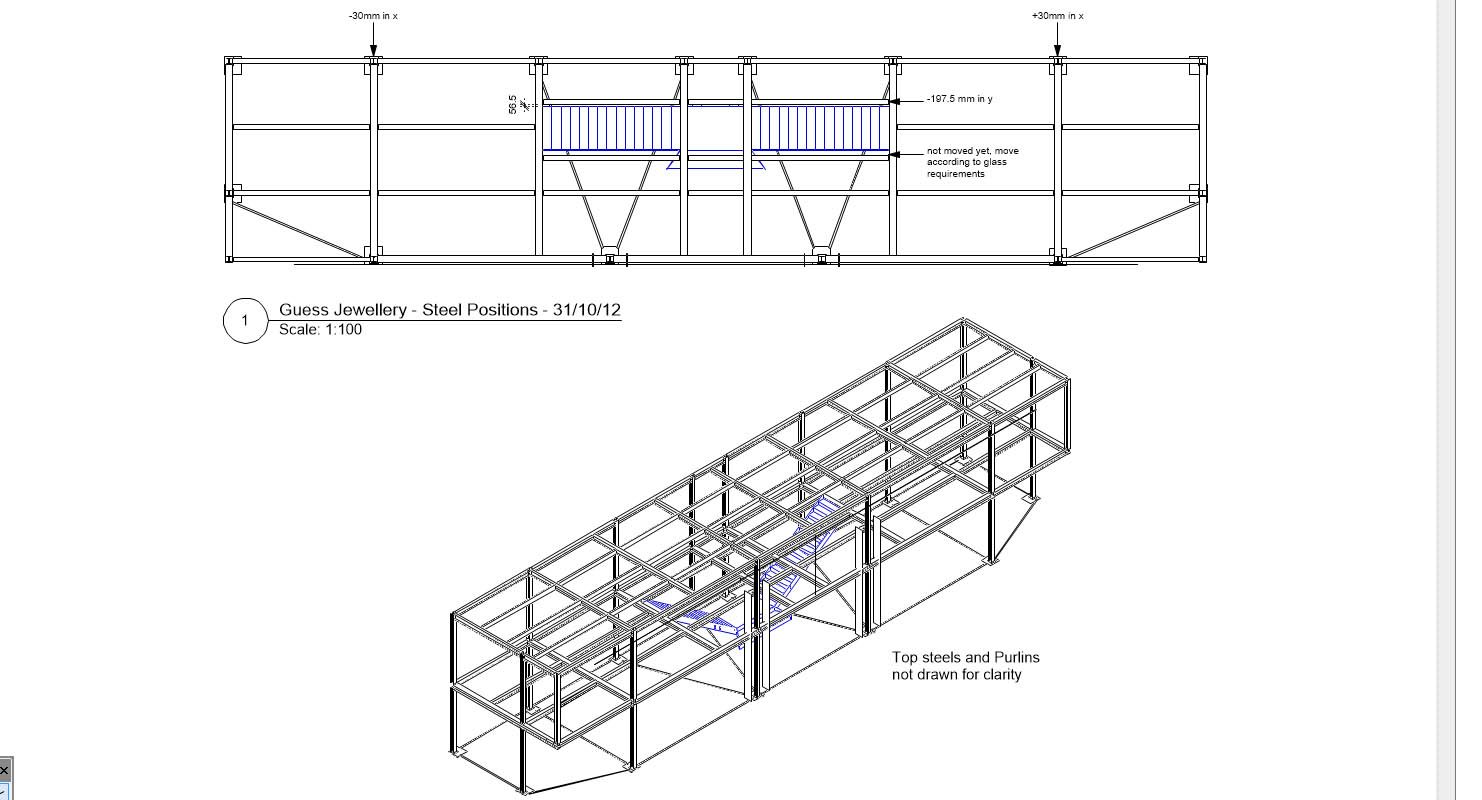 Steelwork Design Amp Detailing Design By Russ
