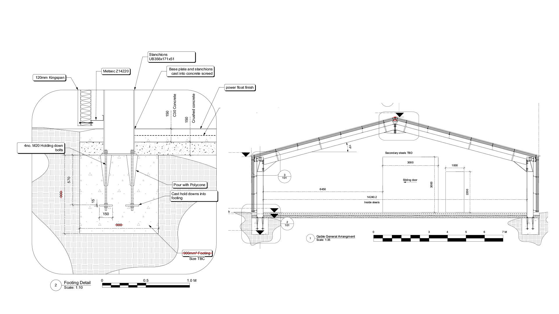 Portal Frame Building | Design By Russ